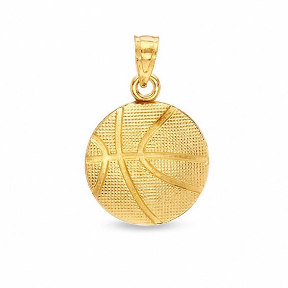 Basketball charm in 14k gold view all jewelry piercing pagoda basketball charm in 14k gold mozeypictures Images