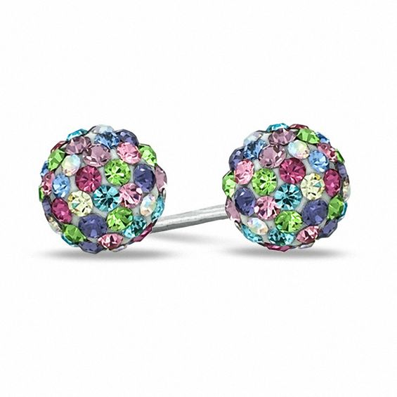 zi johnson earrings betsey dillards multi stud stone p colored flower