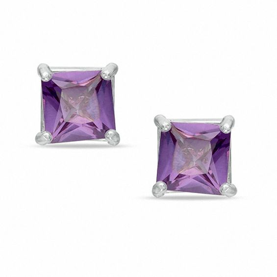 alexandrite sterling earrings swarovski dp birthstone june stud elements silver