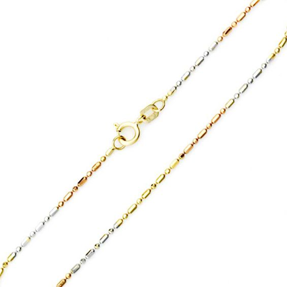 get find tone intertwined and cz gold shopping tri color pink cheap on guides weave quotations yellow deals silver sterling necklace
