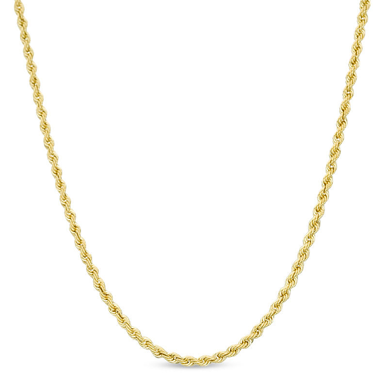 3b9e094e8eccb 016 Gauge Hollow Rope Chain Necklace in 14K Gold - 22